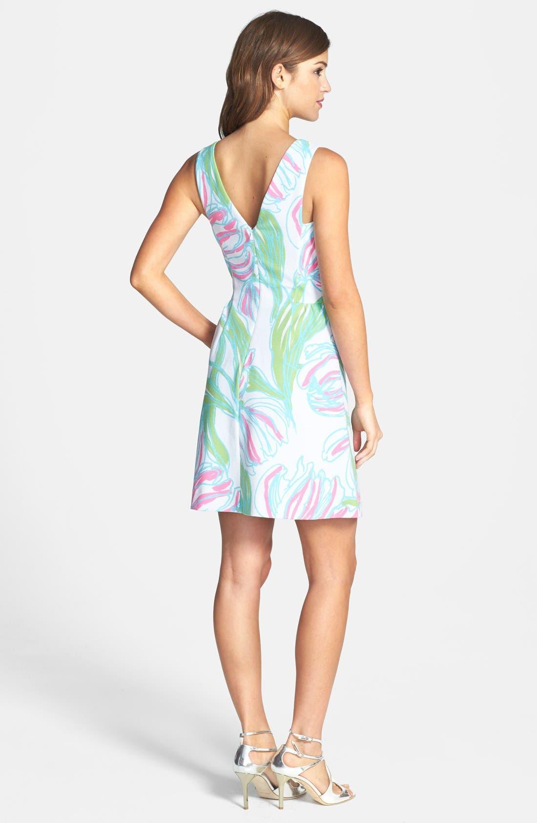 Alternate Image 2  - Lilly Pulitzer® 'Bella' Print Ottoman Knit Dress