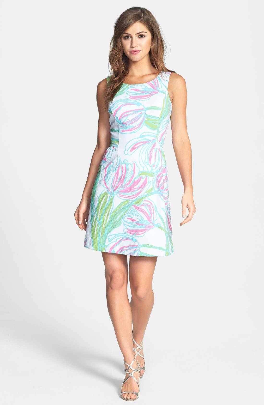 Alternate Image 1 Selected - Lilly Pulitzer® 'Bella' Print Ottoman Knit Dress