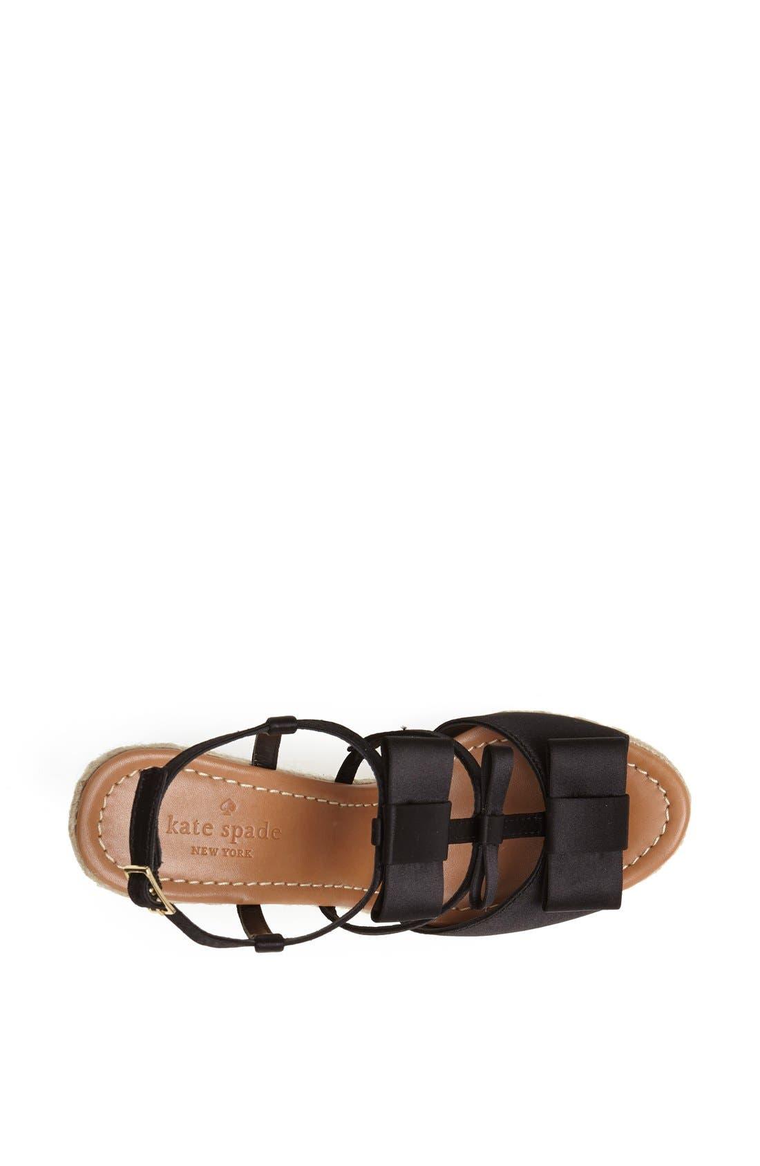 Alternate Image 3  - kate spade new york 'juju' wedge sandal
