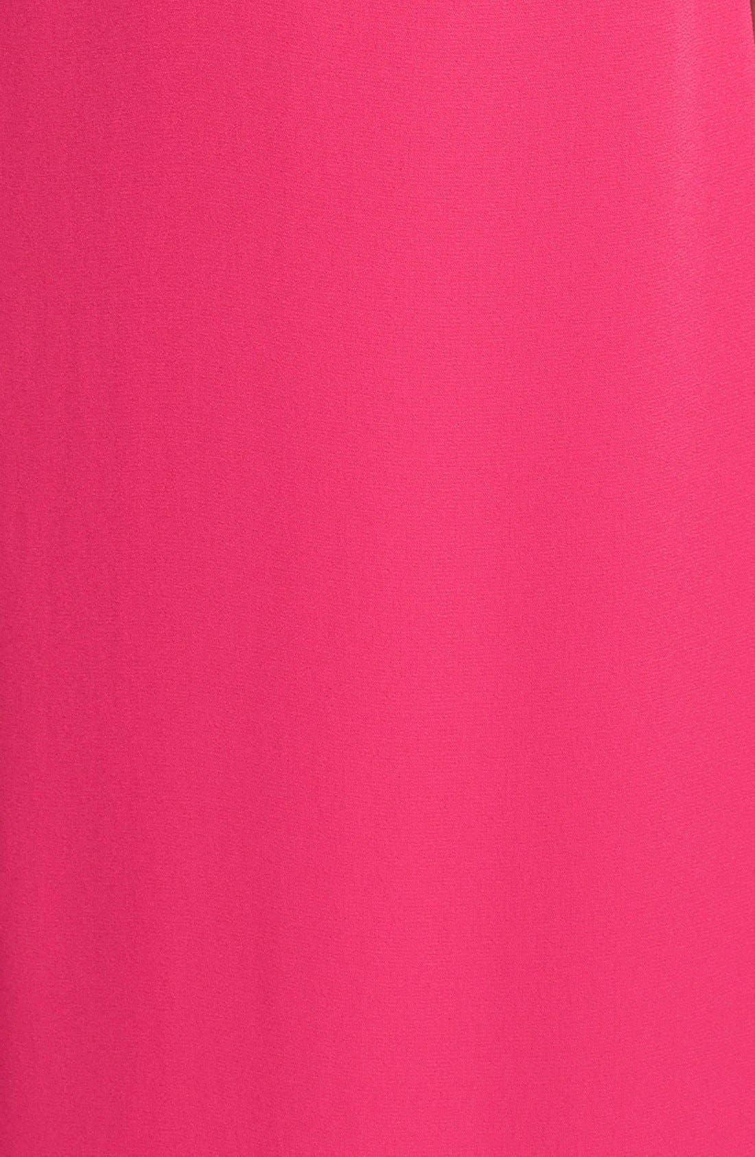 Alternate Image 3  - BCBGMAXAZRIA 'Ivana' High/Low Georgette Dress