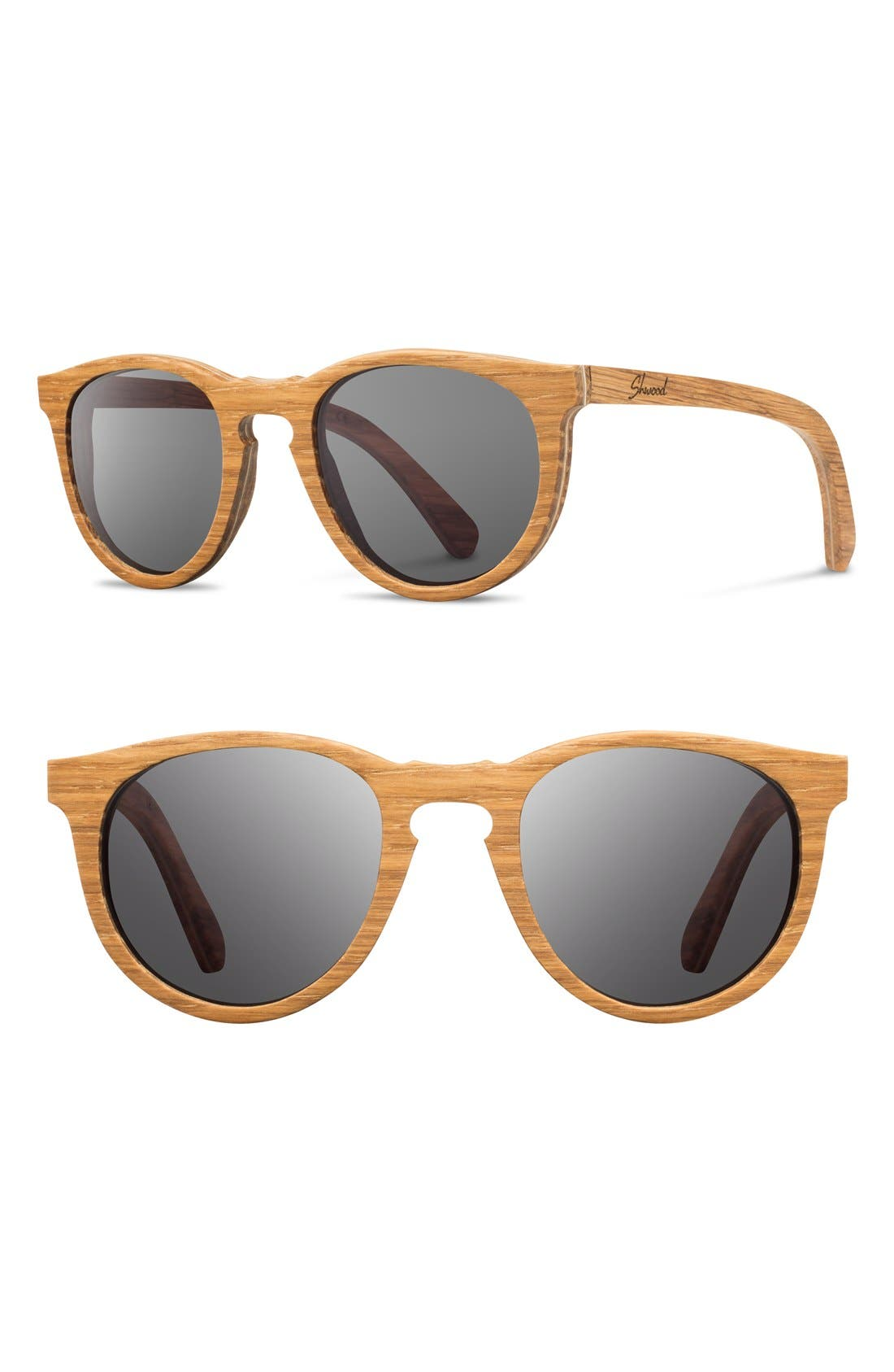 Alternate Image 1 Selected - Shwood 'Belmont' 48mm Wood Sunglasses