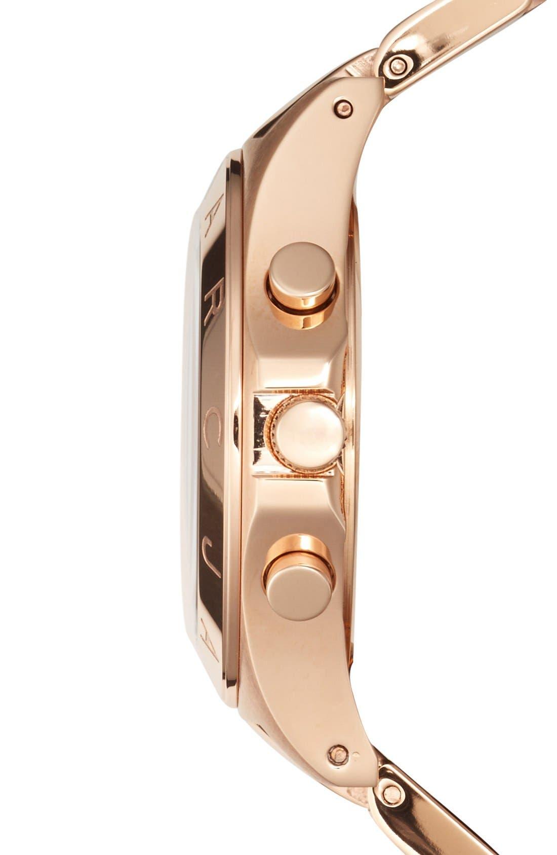 Alternate Image 3  - MARC JACOBS 'Blade' Chronograph Bracelet Watch, 40mm (Nordstrom Exclusive)