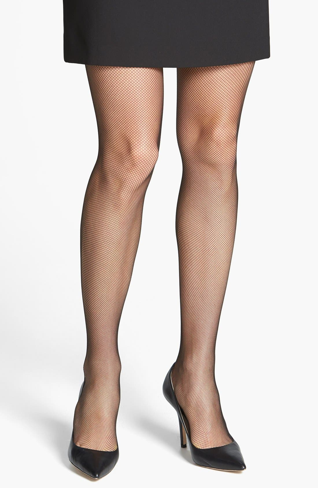 Alternate Image 1 Selected - Donna Karan 'Luxe Tulle' Tights
