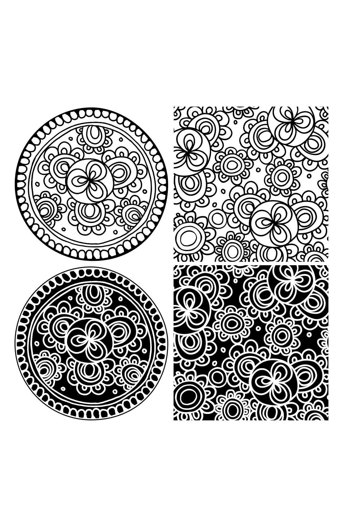 Alternate Image 1 Selected - Wallpops 'Bali Dots & Blox' Wall Art