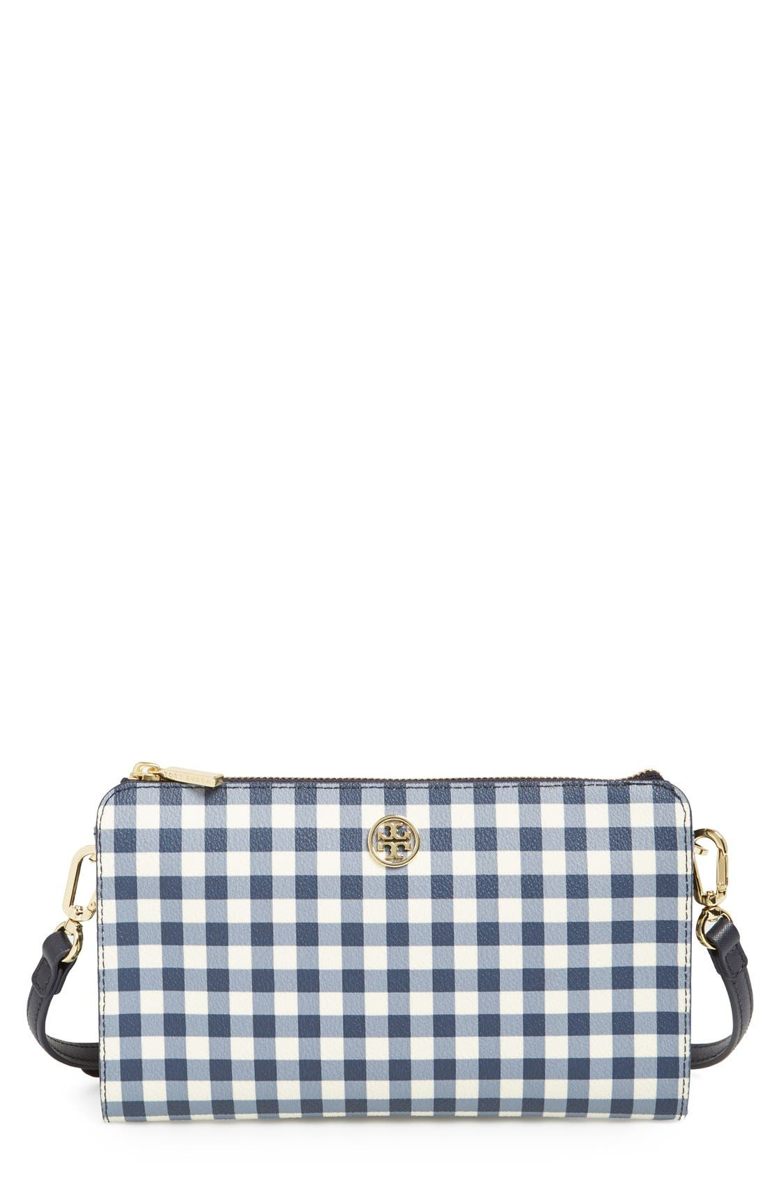 Main Image - Tory Burch 'Robinson' Crossbody Wallet