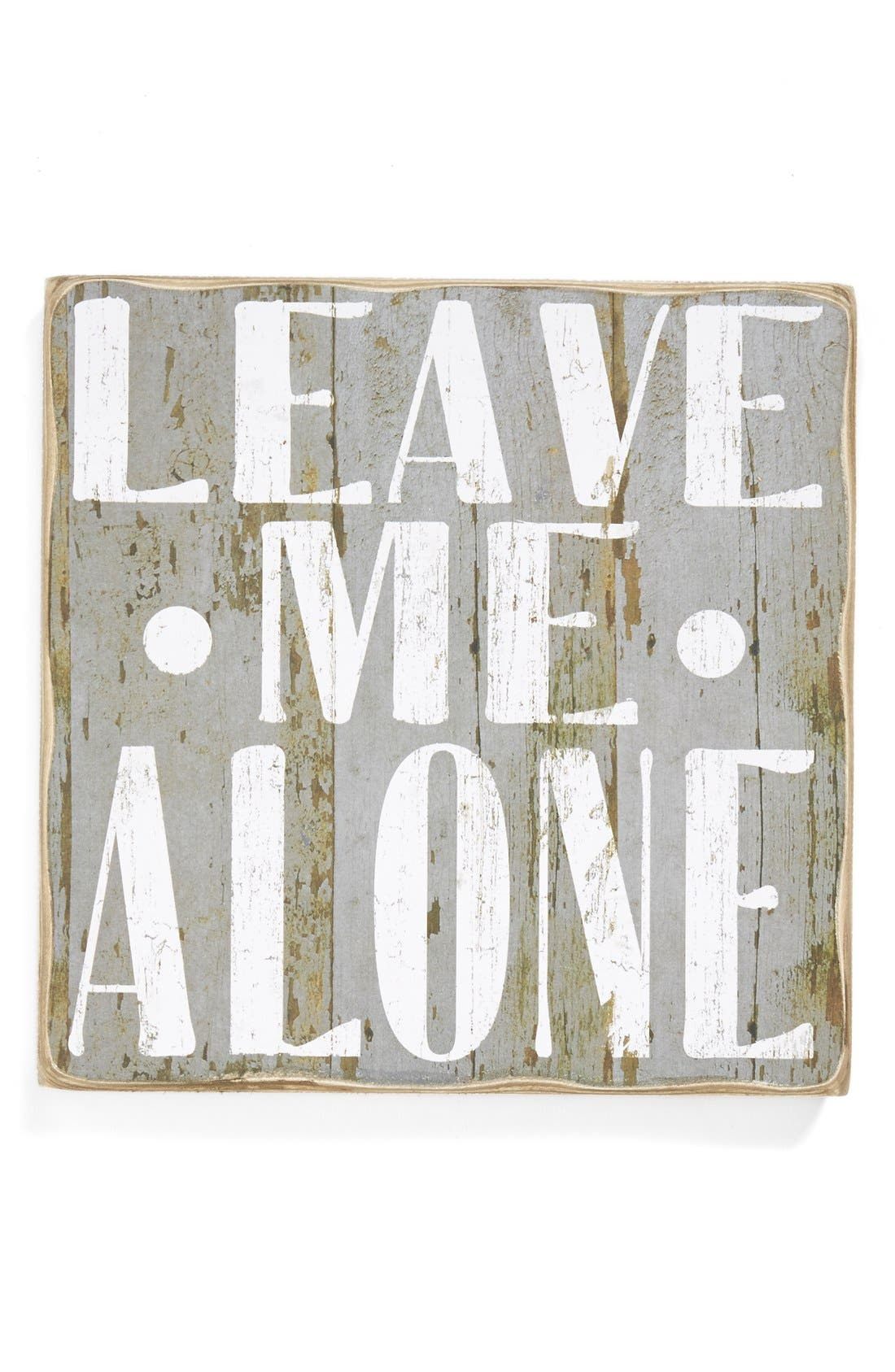 Alternate Image 2  - Primitives by Kathy 'Happy Place/Leave Me Alone' Reversible Box Sign (Nordstrom Exclusive)