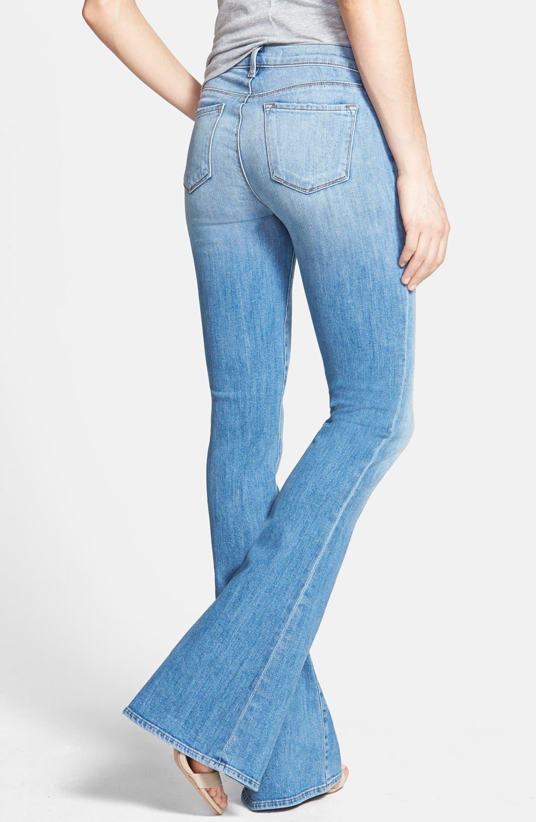 Alternate Image 2  - J Brand 'Martini' Flared Jeans (Eternal)