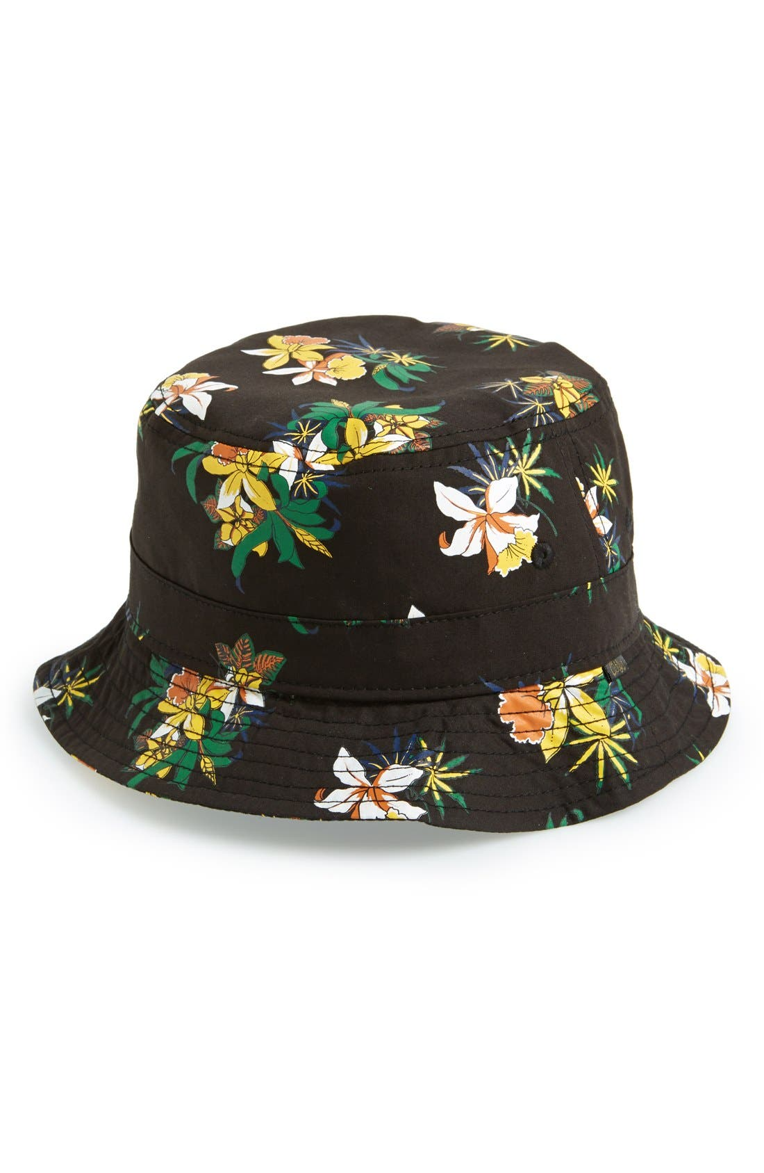 Alternate Image 1 Selected - Obey Floral Print Bucket Hat