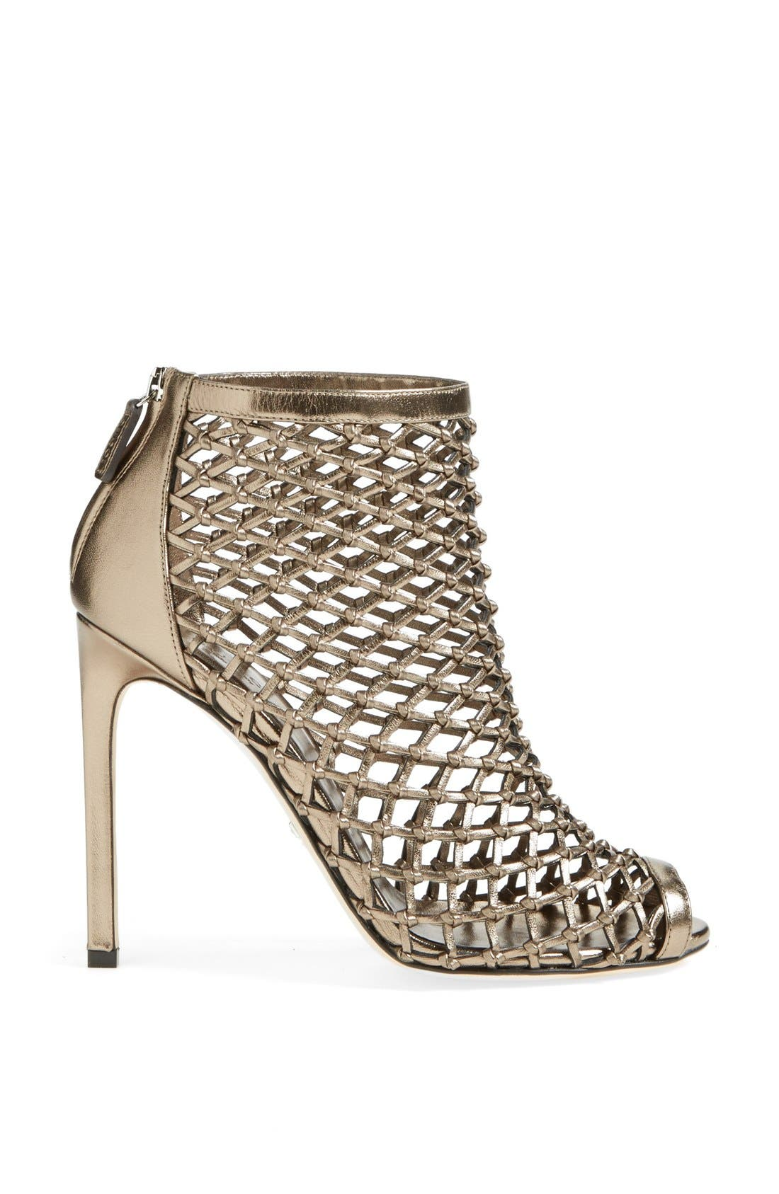 Alternate Image 4  - Gucci 'Eline' Studded Cage Open Toe Sandal