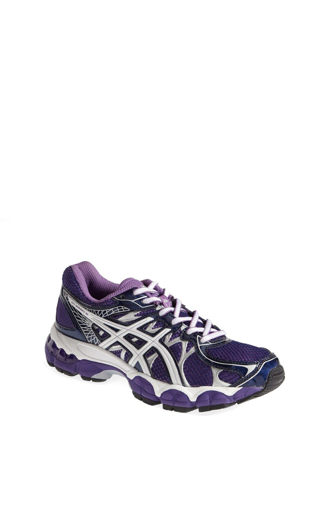 Alternate Image 1 Selected - ASICS® 'GEL-Nimbus 16 GS' Running Shoe (Little Kid & Big Kid)