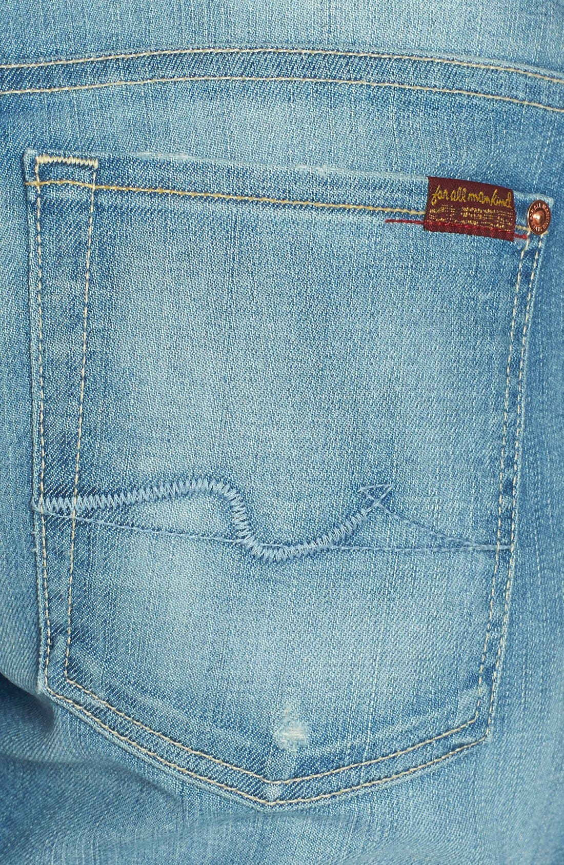 Alternate Image 3  - 7 For All Mankind® 'Josefina' Distressed Boyfriend Jeans (Authentic Pacific Grove)