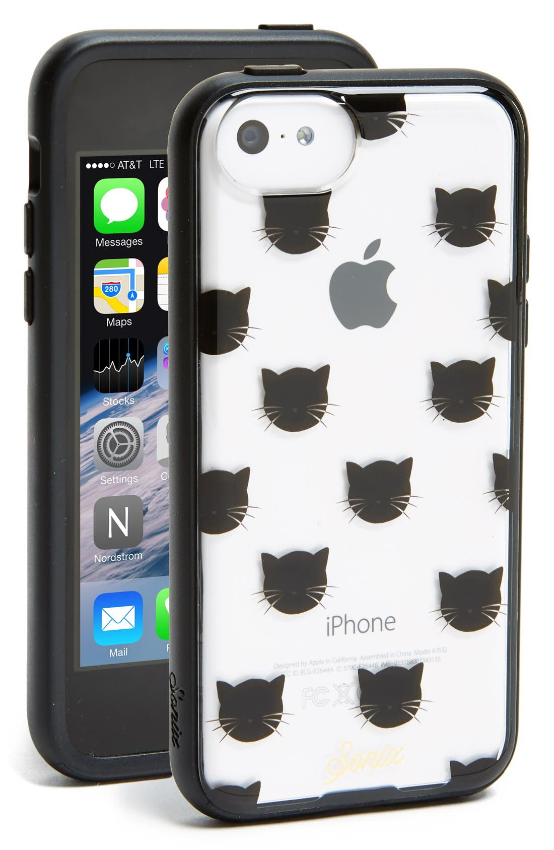 Alternate Image 1 Selected - Sonix 'Kitten' Clear iPhone 5c Case