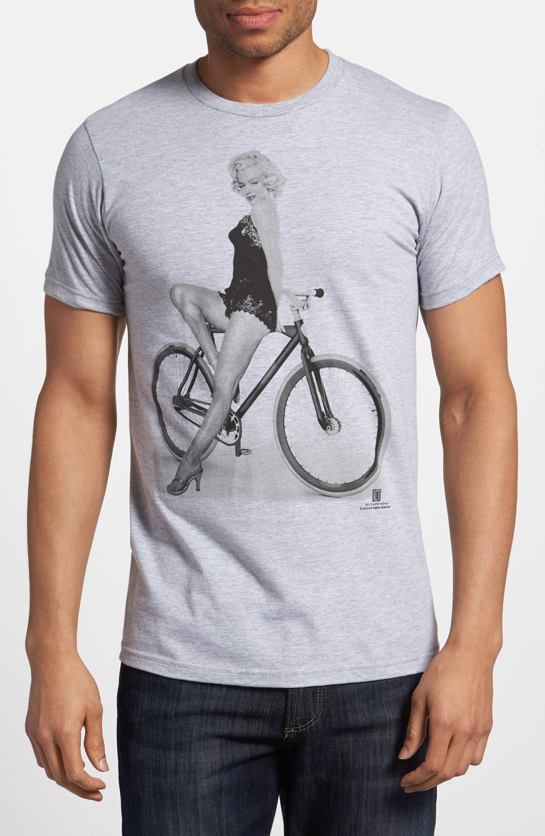 Alternate Image 1 Selected - Topless 'Fixie Marilyn' T-Shirt