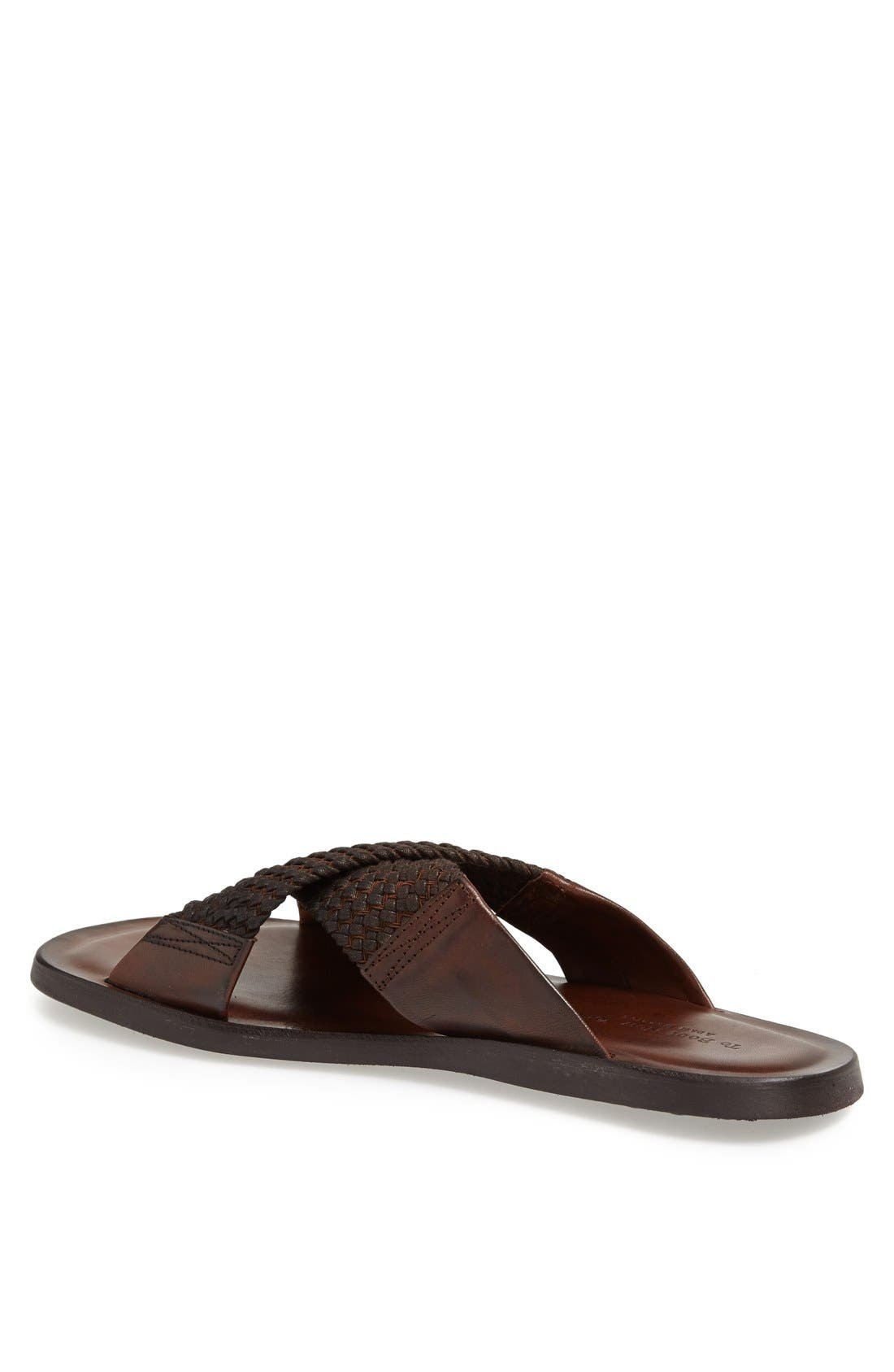 Alternate Image 2  - To Boot New York 'Ibiza' Leather Slide Sandal
