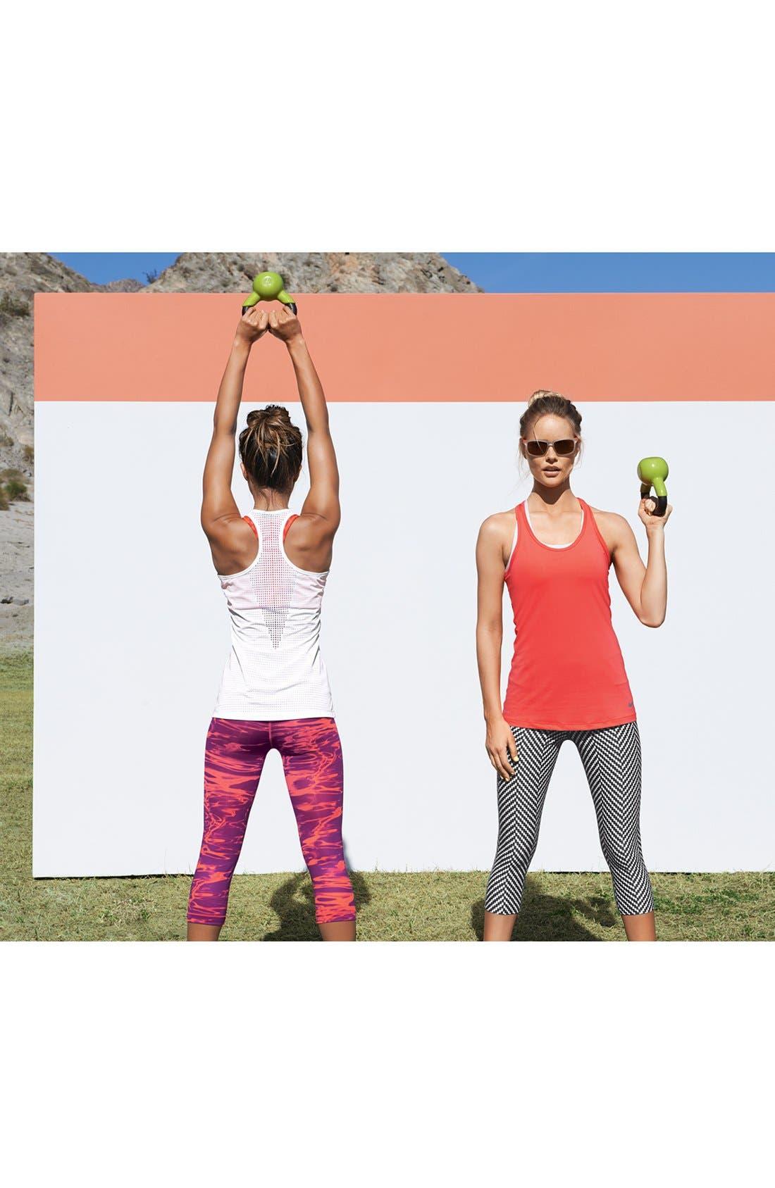 Alternate Image 6  - Nike 'Pro Core' Dri-FIT Ikat Racerback Bra