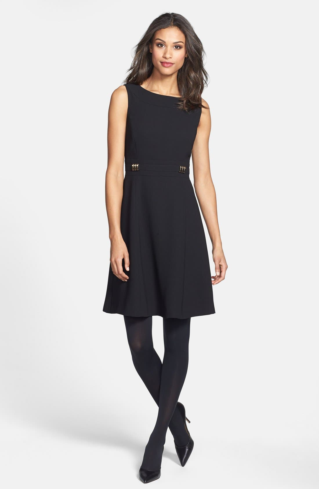 Alternate Image 5  - Tahari Sleeveless Fit & Flare Dress (Online Only)