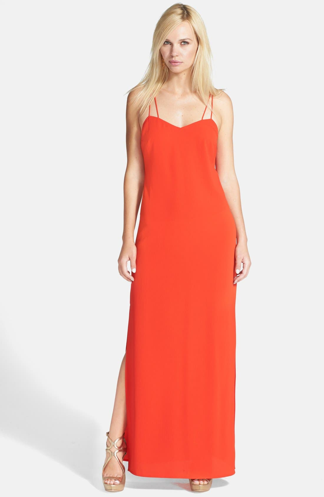 Alternate Image 1 Selected - Tildon Strap Detail Maxi Dress