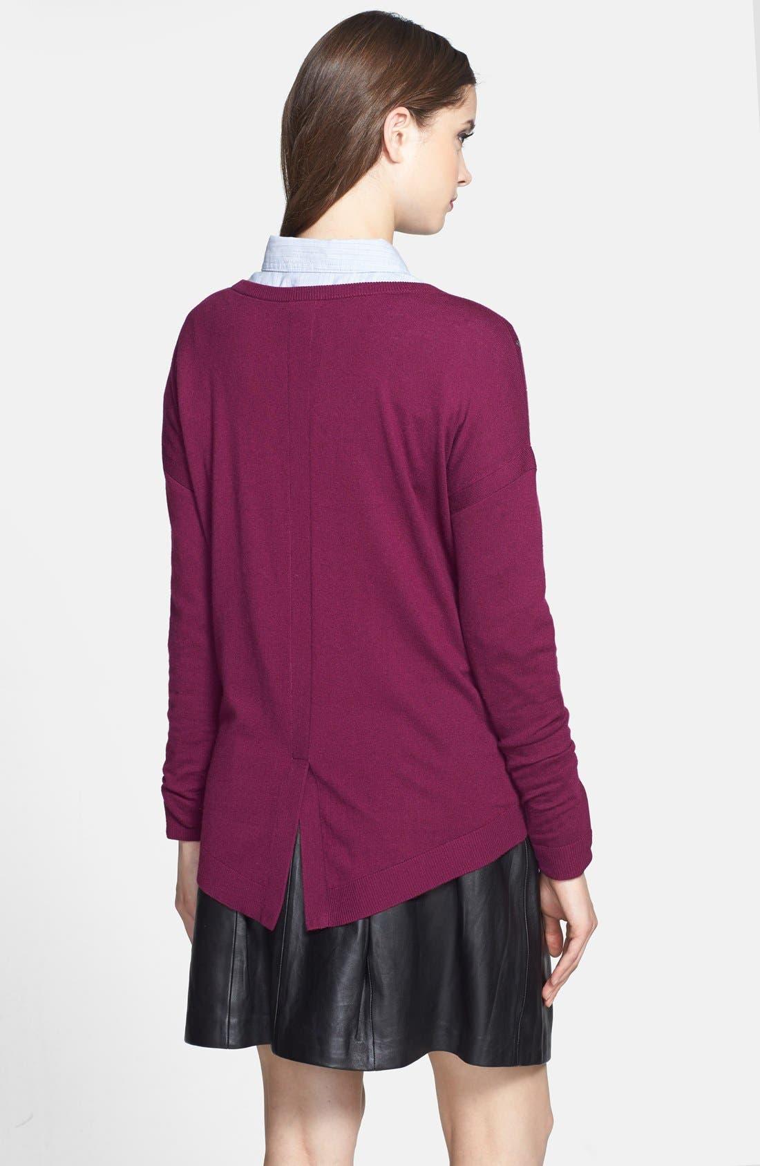 Alternate Image 2  - Caslon® Studded Sweater