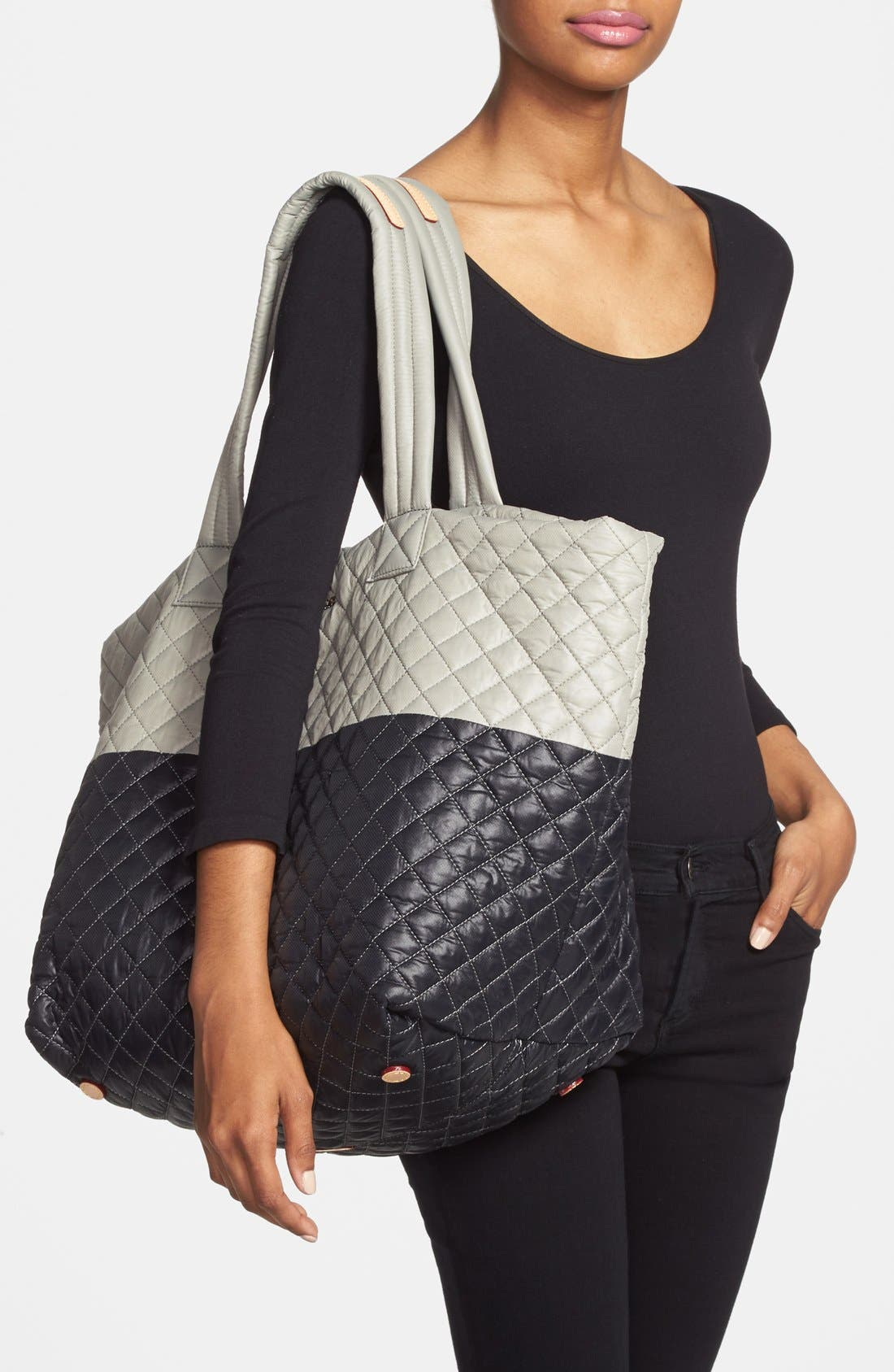 Alternate Image 2  - MZ Wallace 'Large Metro' Quilted Tote