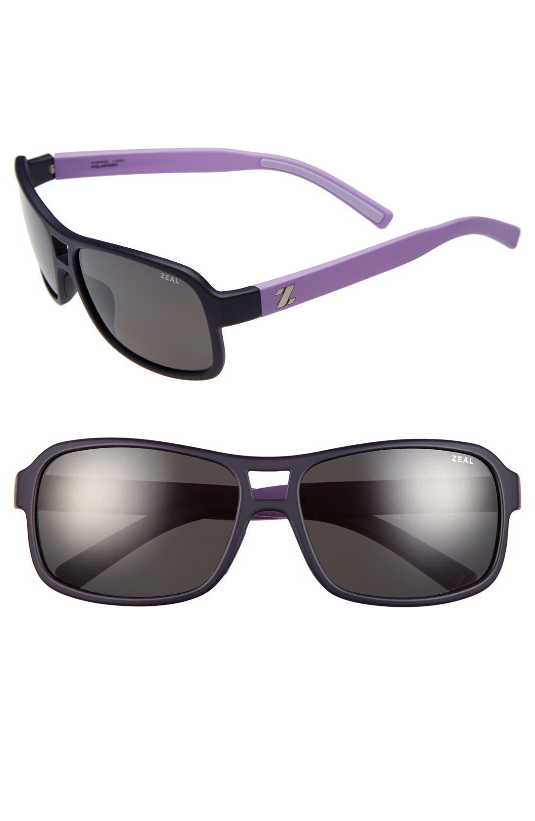Alternate Image 1 Selected - Zeal Optics 'Tofino' 57mm Polarized Plant Based Sunglasses