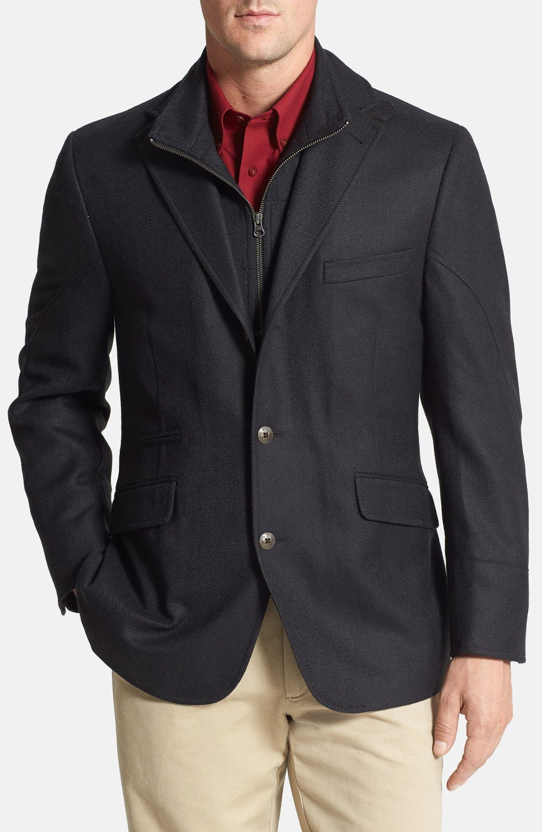 Main Image - Kroon 'Ritchie' Classic Fit Wool & Cashmere Hybrid Sport Coat