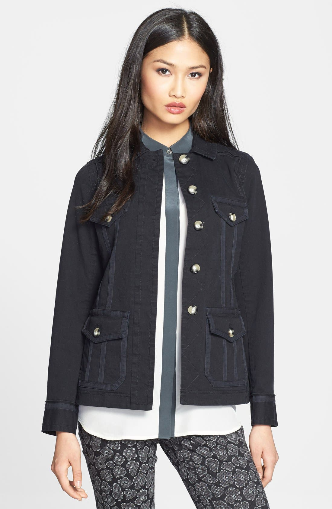 Alternate Image 1 Selected - MARC BY MARC JACOBS 'Zeta' Cotton Twill Jacket