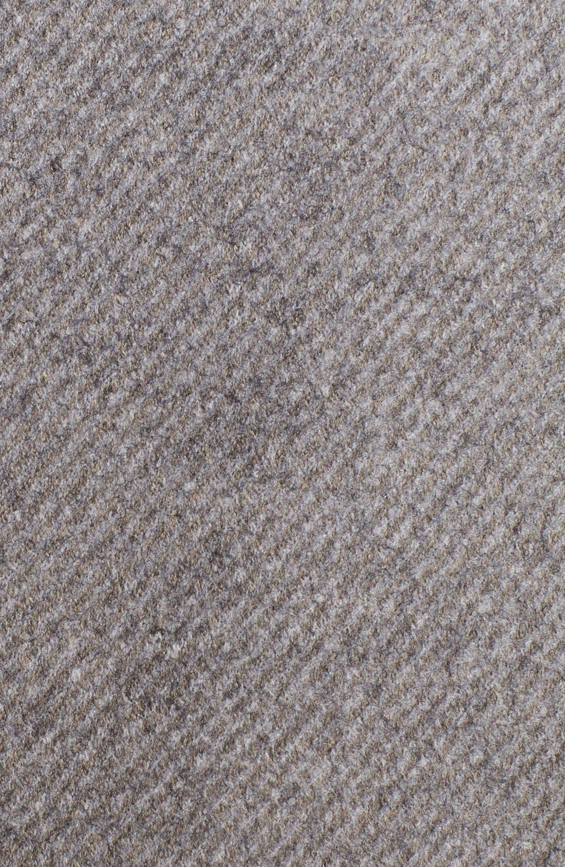 Alternate Image 3  - Armani Collezioni Light Grey Raw Edge Wool Blend Sport Coat
