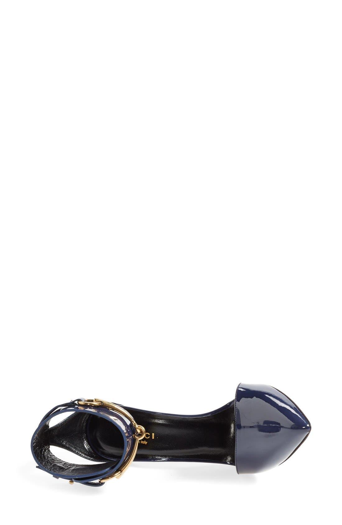 Alternate Image 3  - Gucci 'Ursula' Ankle Cuff Pointy Toe Pump