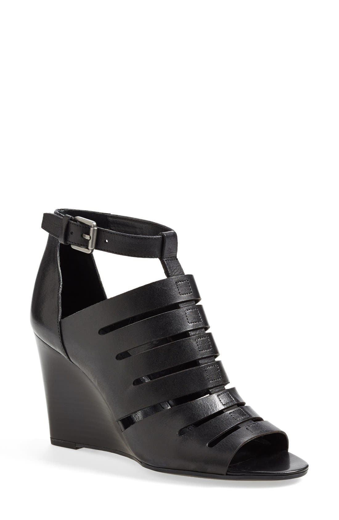 Main Image - Franco Sarto 'Faryn' Wedge Sandal (Online Only) (Women)