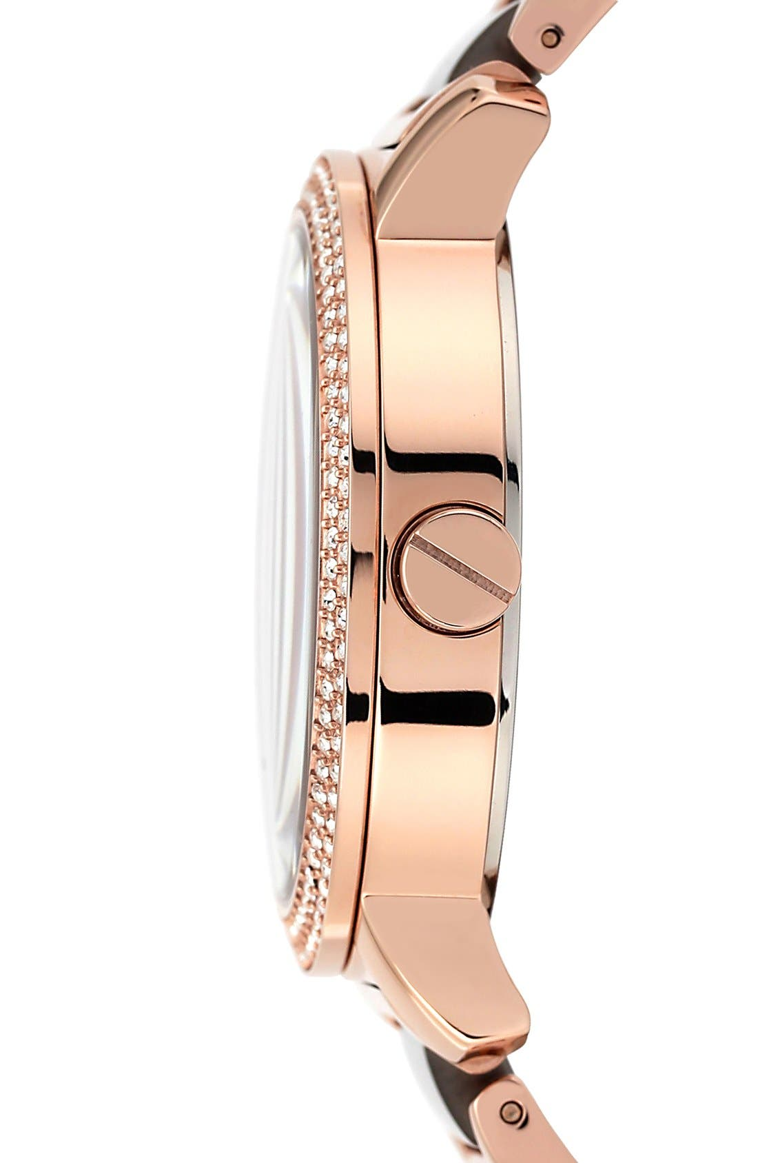 Alternate Image 3  - Vince Camuto Crystal Accent Multifunction Watch, 41mm