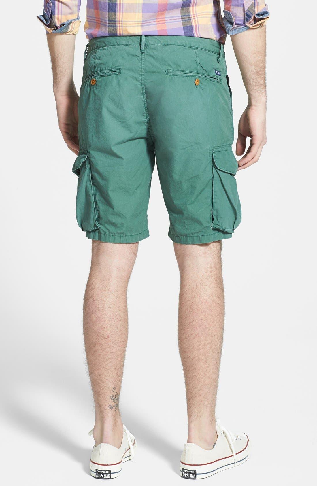 Alternate Image 2  - Scotch & Soda Poplin Cargo Shorts