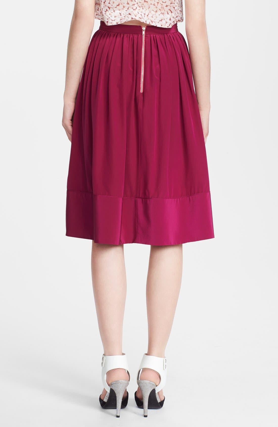 Alternate Image 2  - Elizabeth and James 'Avenue' Silk Skirt