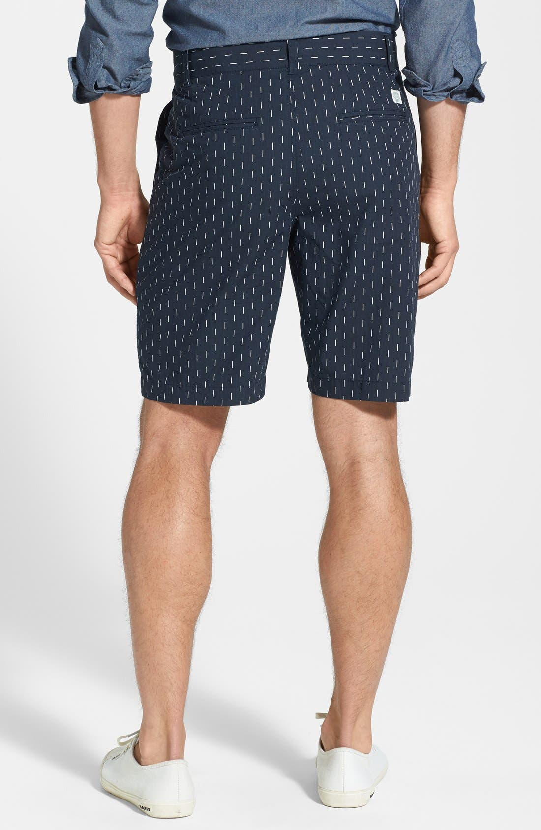 Alternate Image 2  - W.R.K 'Gibson' Relaxed Fit Dash Print Shorts