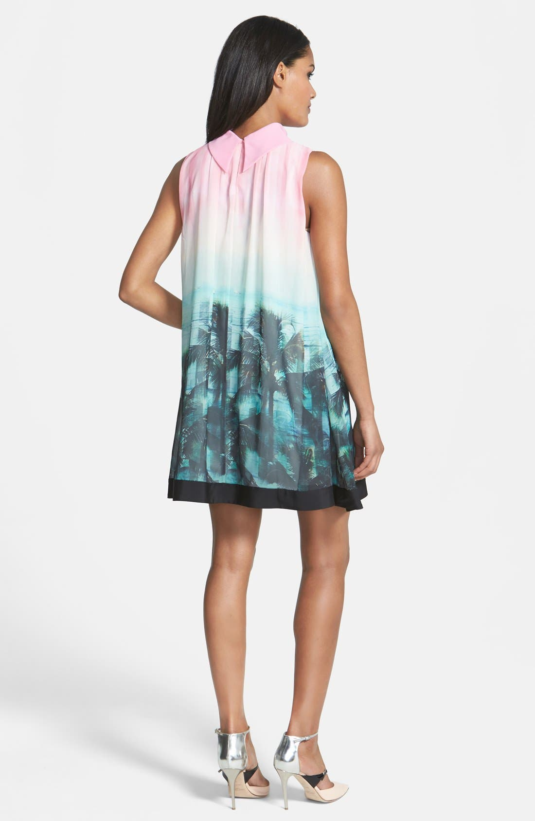 Alternate Image 2  - Ted Baker London 'Palm Tree Paradise' Print Dress