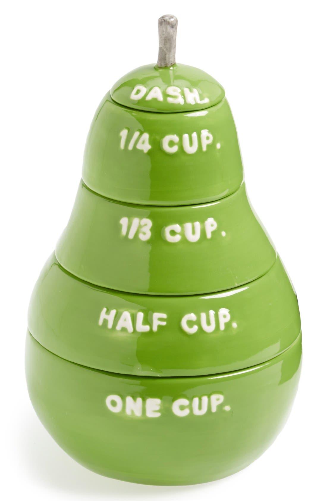 Main Image - Magenta 'Pear' Measuring Cups