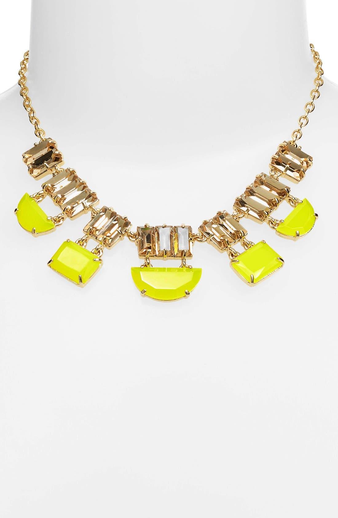 Main Image - kate spade new york varadero tile mixed stone short necklace
