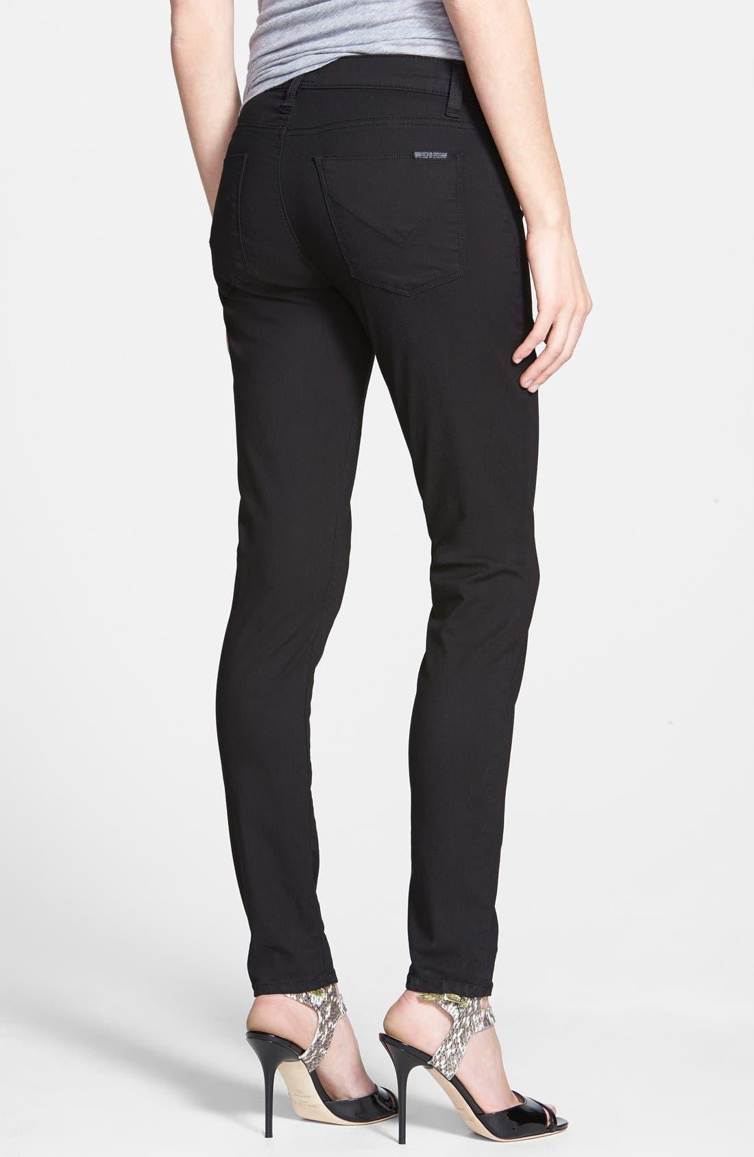 Alternate Image 2  - Hudson Jeans 'Nico' Super Skinny Jeans (Melancholy)