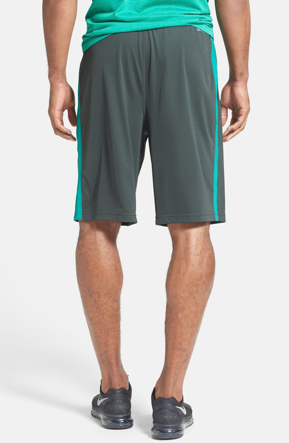 Alternate Image 2  - Nike 'Fly 2.0' Dri-FIT Knit Training Shorts
