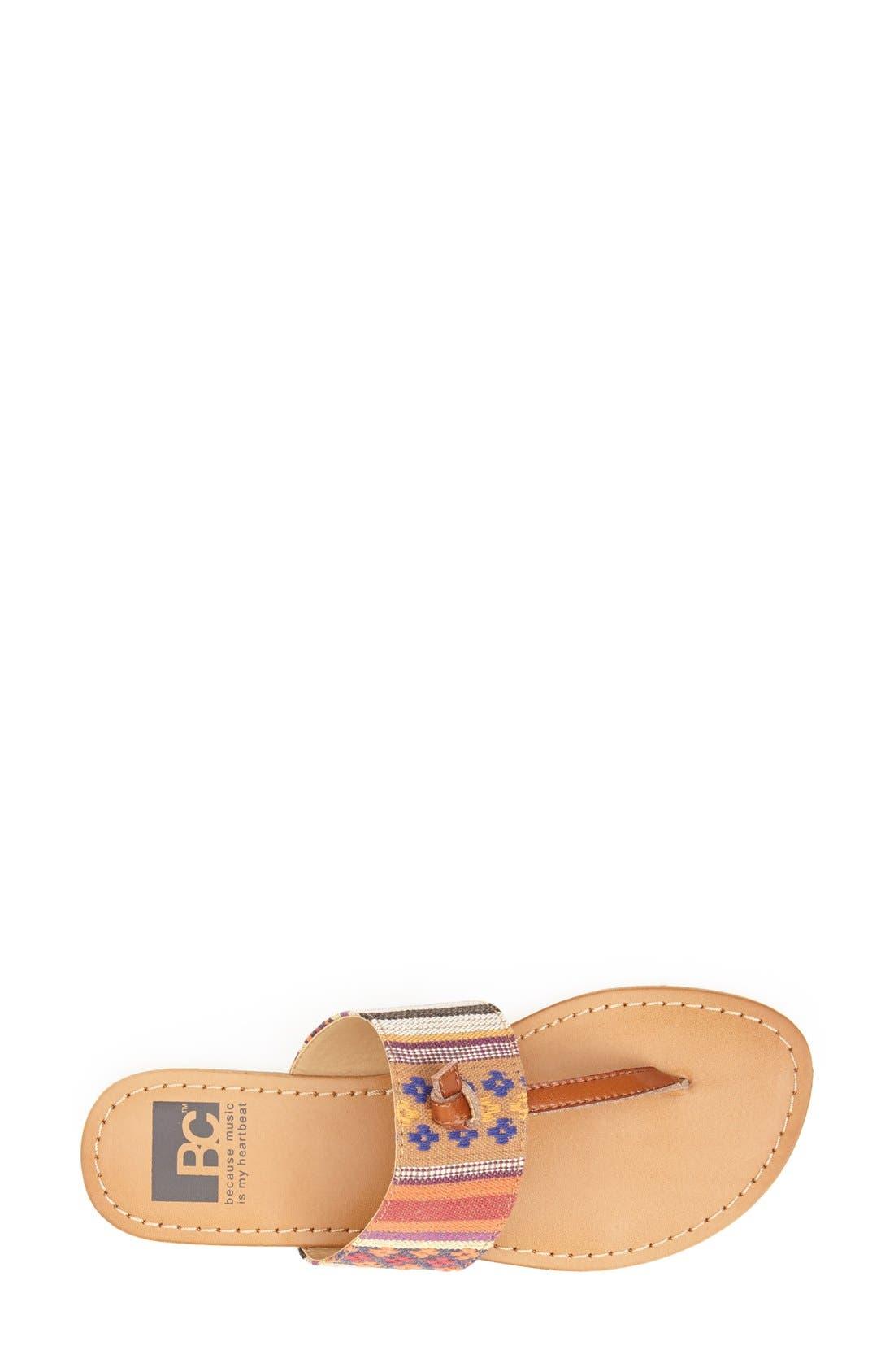 Alternate Image 3  - BC Footwear 'Gotta Try' Thong Sandal (Women)