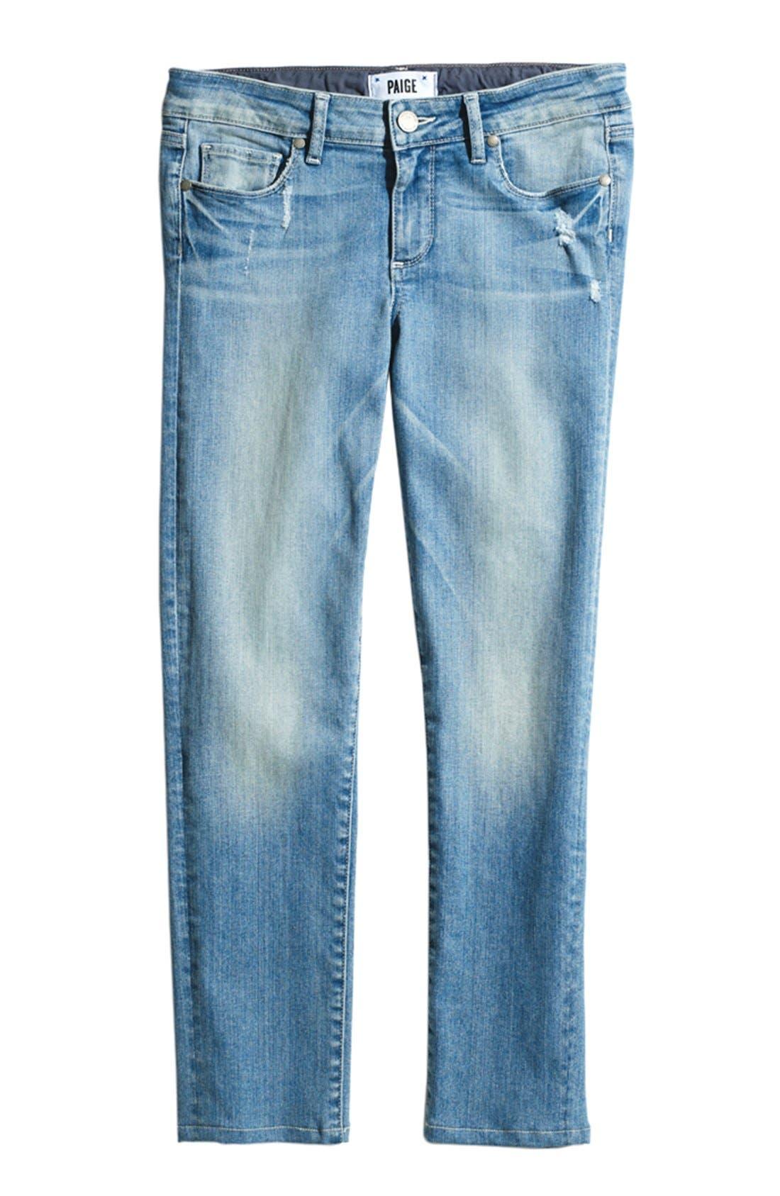 Alternate Image 4  - Paige Denim 'Kylie' Crop Skinny Jeans (Whitley)