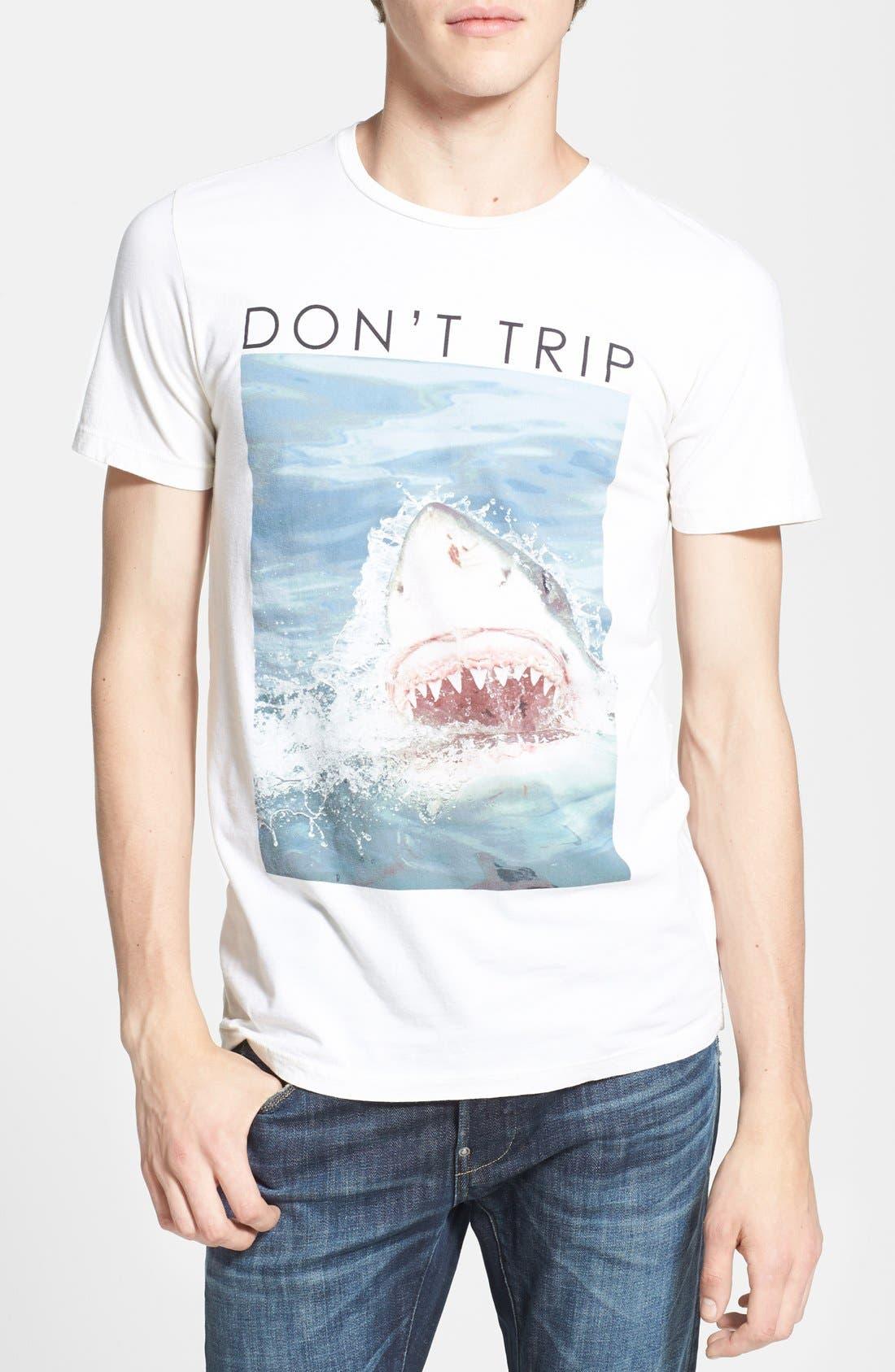 Alternate Image 1 Selected - Altru 'Don't Trip' Graphic T-Shirt