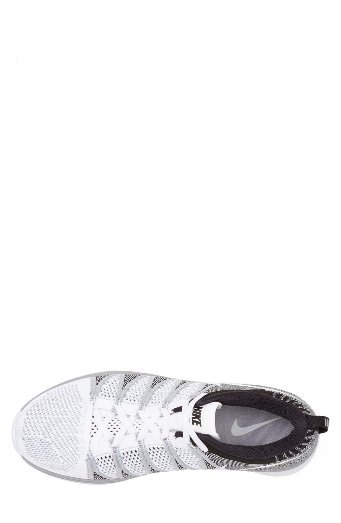 Alternate Image 4  - Nike 'Flyknit Lunar2' Running Shoe (Men)