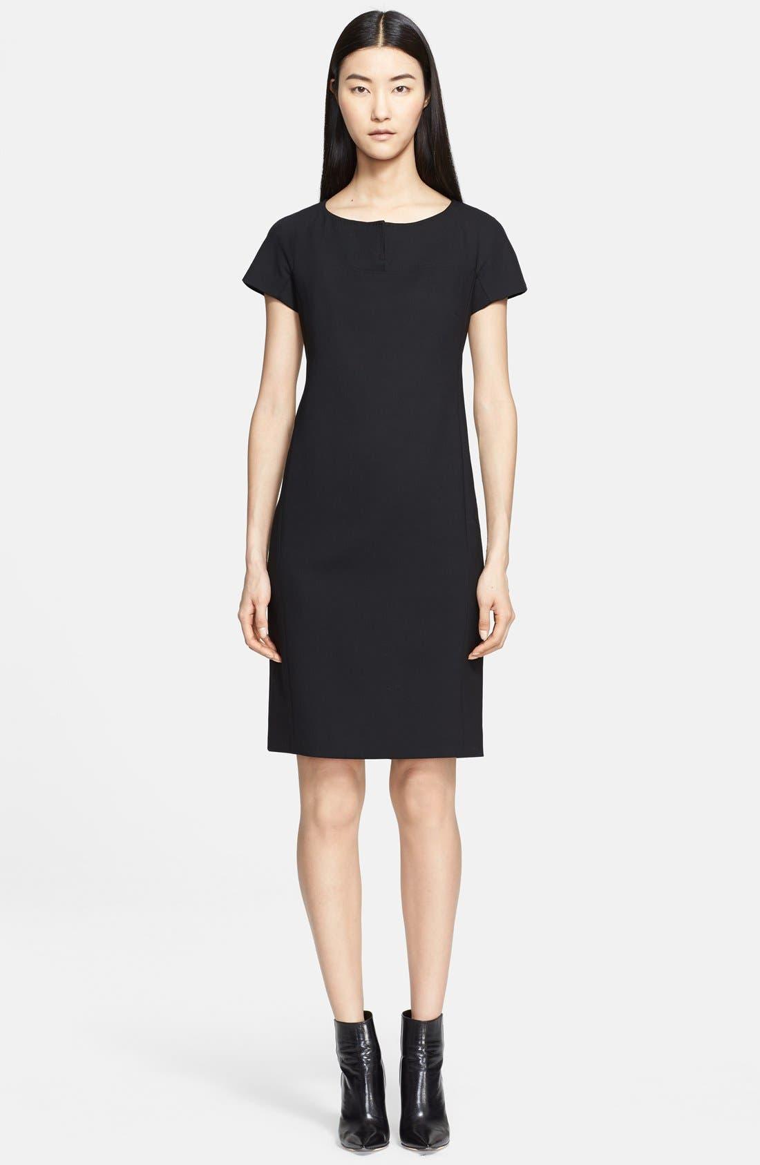 Alternate Image 1 Selected - Max Mara 'Fiamma' Wool Crepe Dress