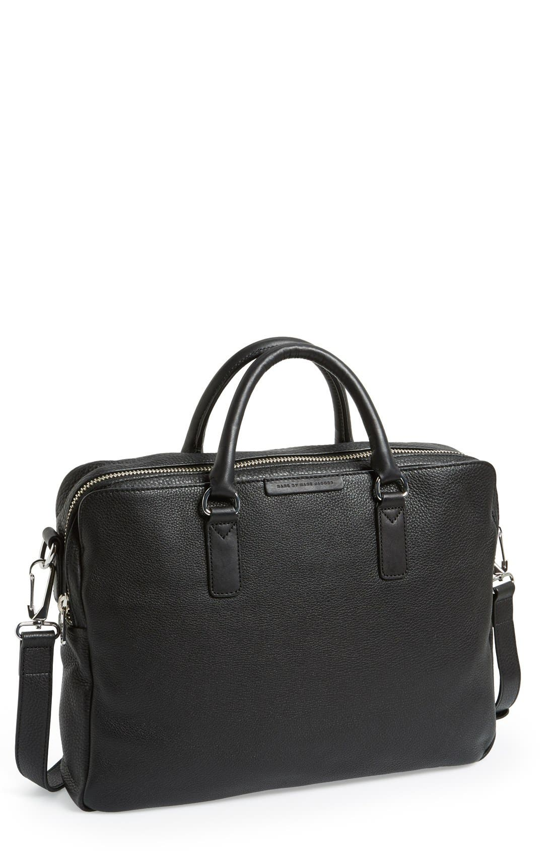 Alternate Image 1 Selected - MARC BY MARC JACOBS 'Classic' Leather Briefcase