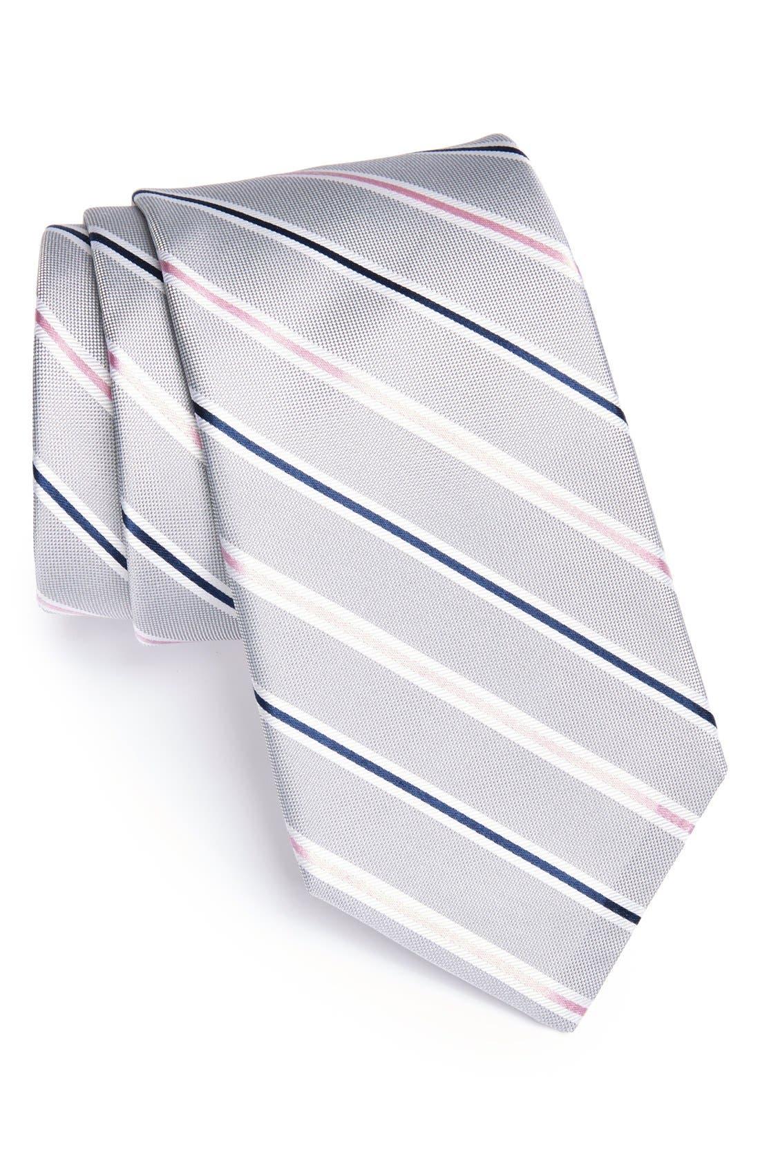 Main Image - Michael Kors Woven Silk Tie (X-Long)