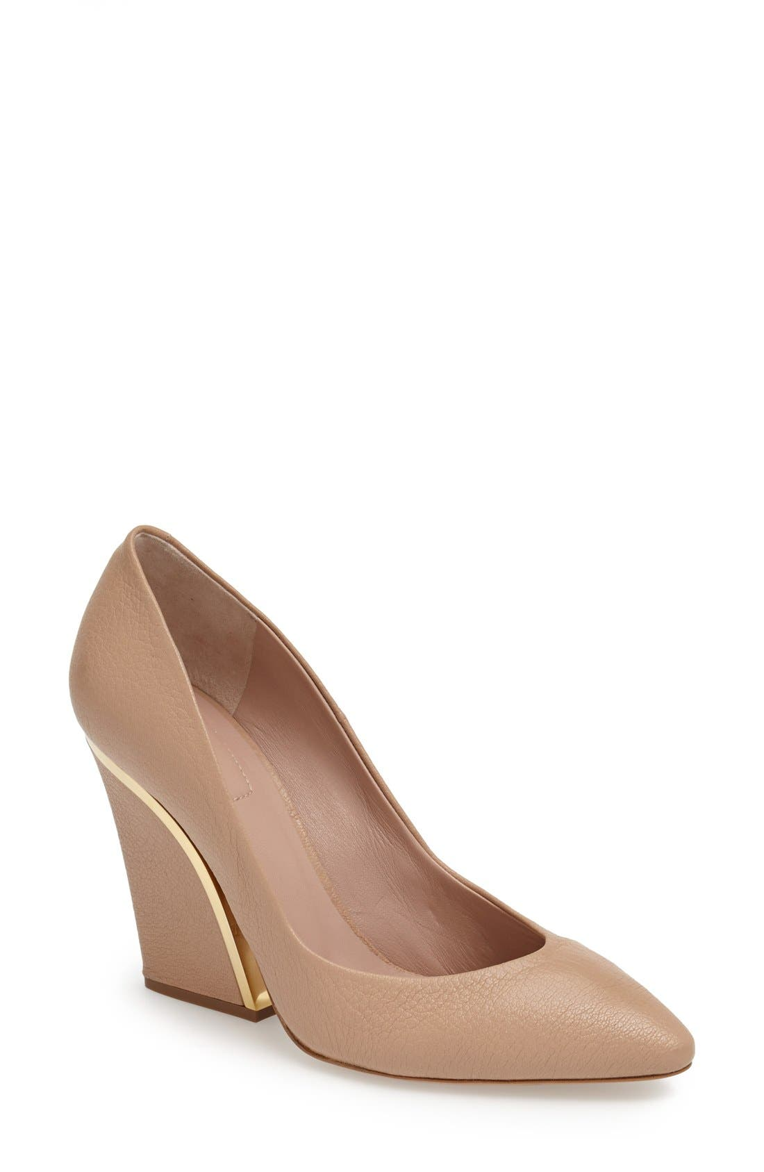 Alternate Image 1 Selected - Chloé 'Beckie' Pointy Toe Pump (Women)