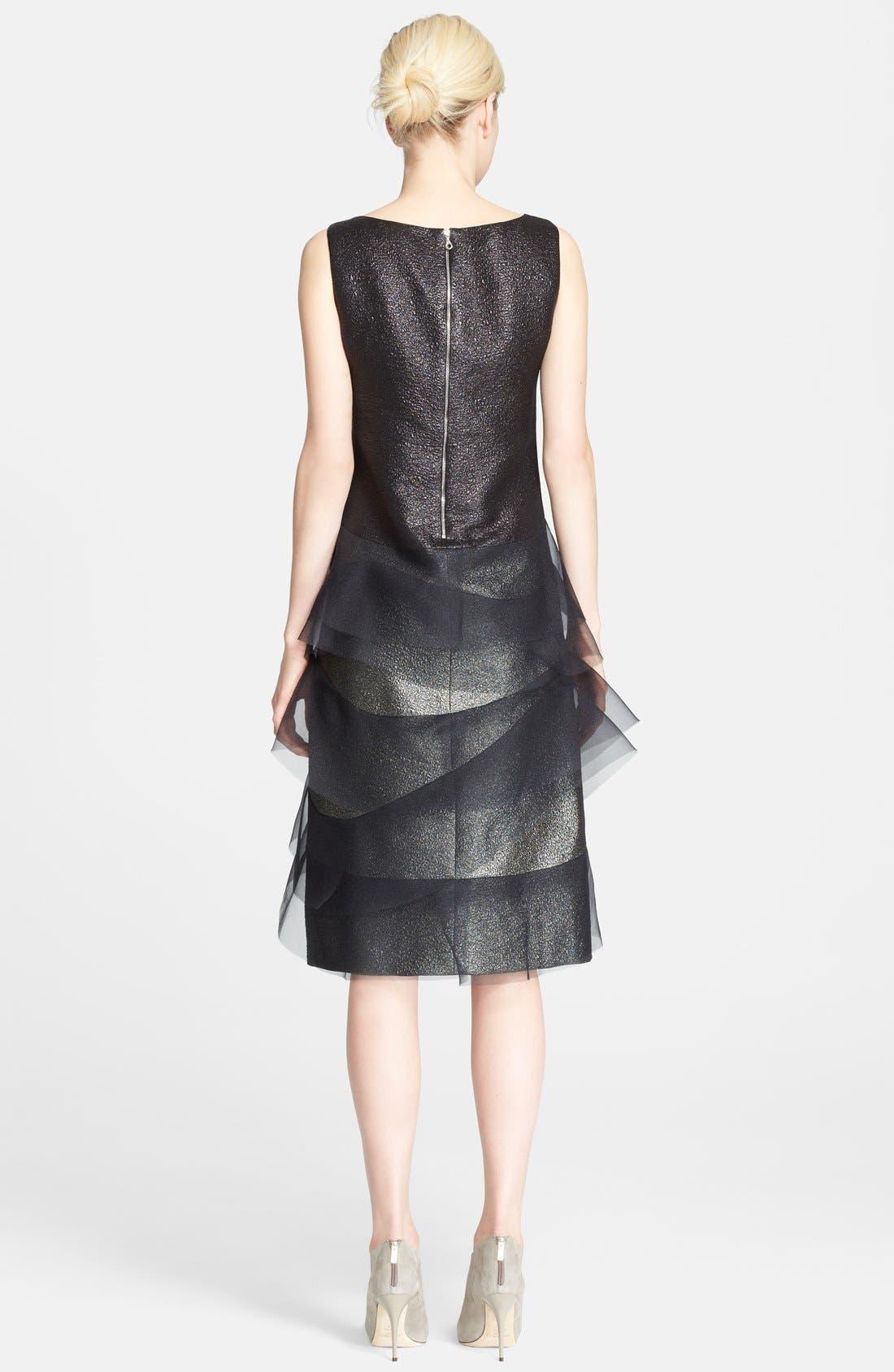 Alternate Image 2  - MARC JACOBS Sleeveless Organza Trim Dress