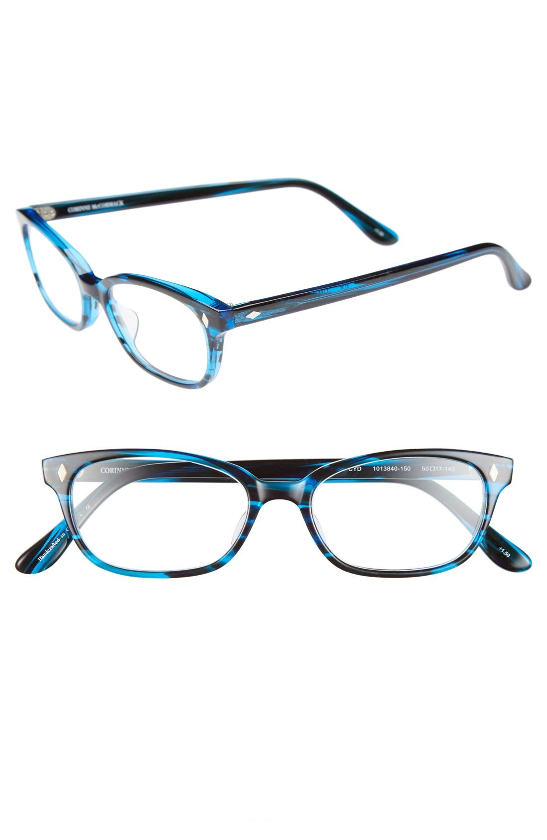 Main Image - Corinne McCormack 'Cyd' 50mm Reading Glasses (2 for $88)