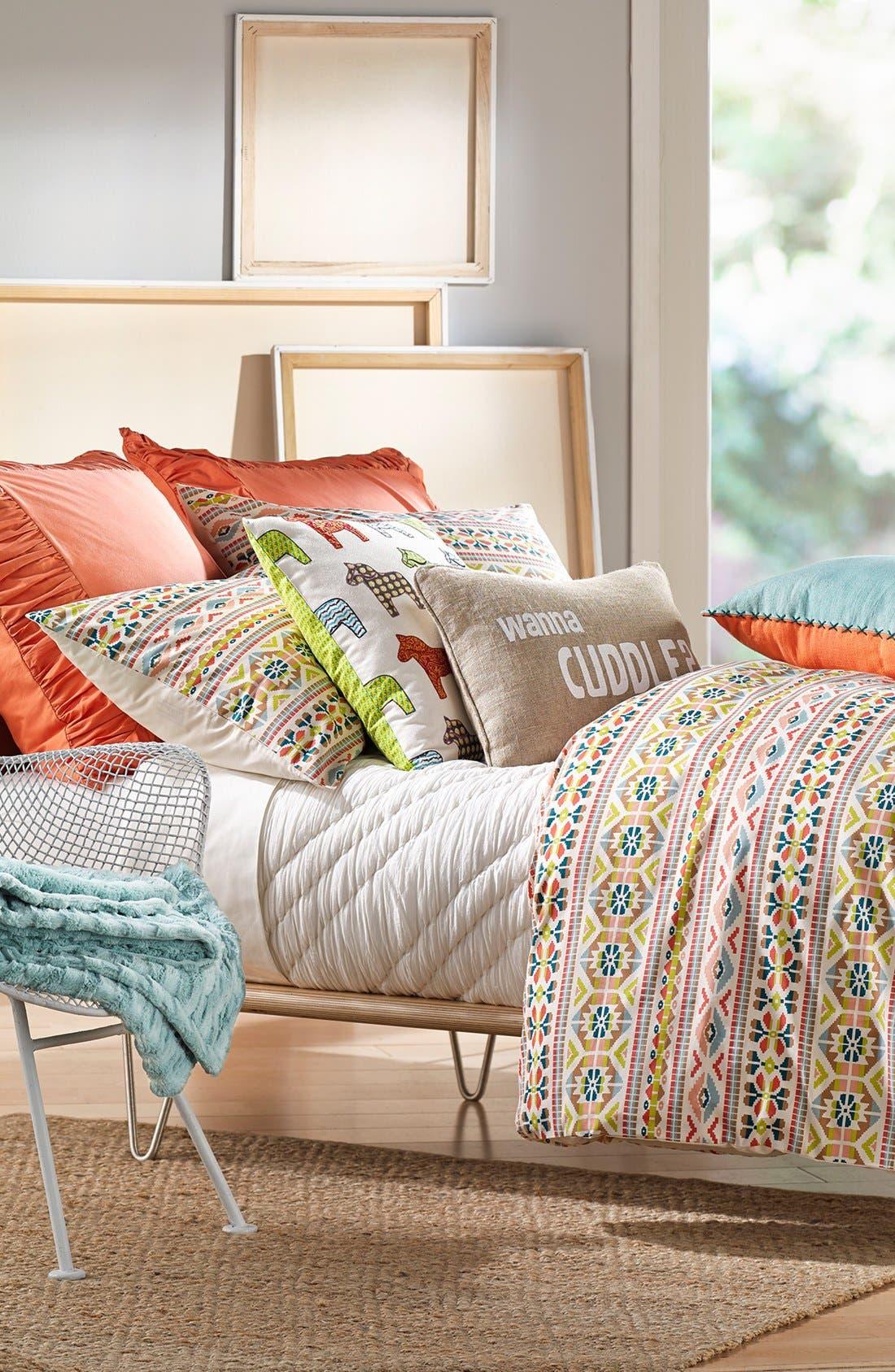 Alternate Image 2  - Levtex 'Wanna Cuddle' Accent Pillow