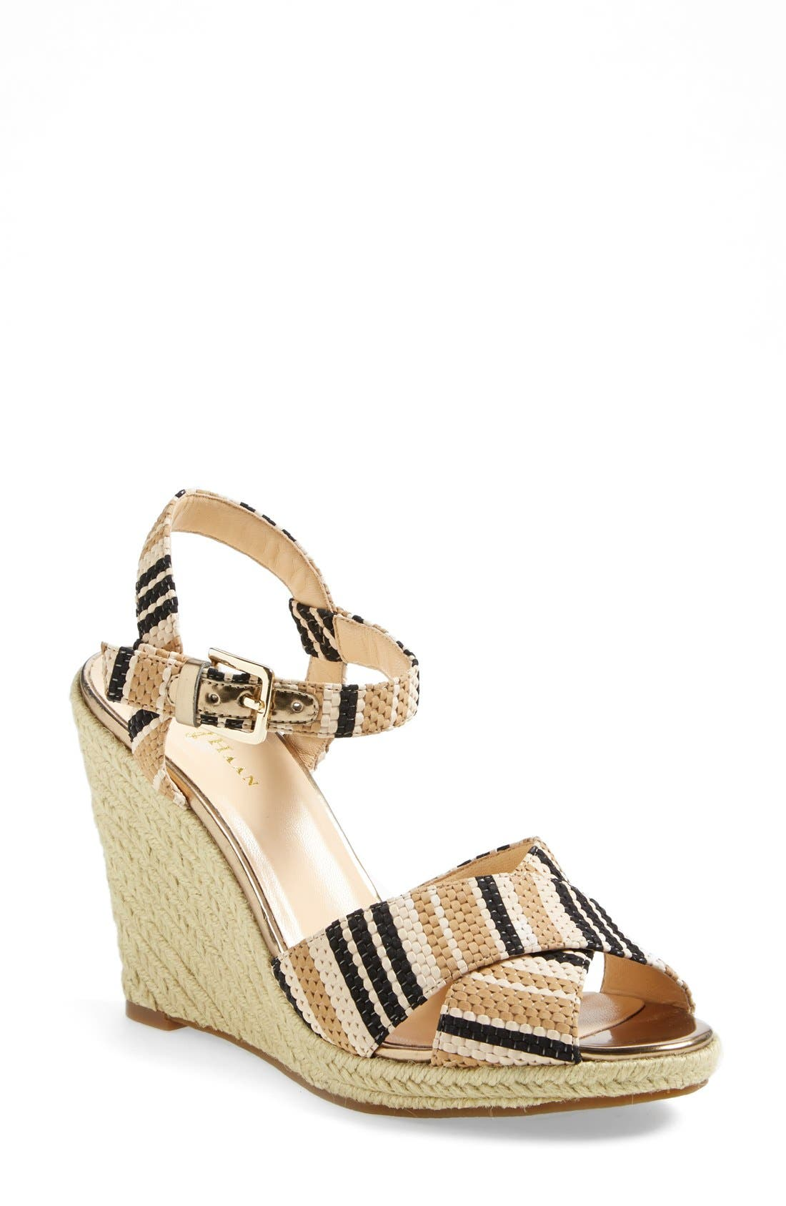 Alternate Image 1 Selected - Cole Haan 'Hart' Wedge Platform Sandal